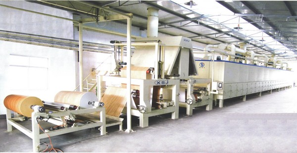Линия для пропитки декоративных и технических бумаг                 одноступенчатая