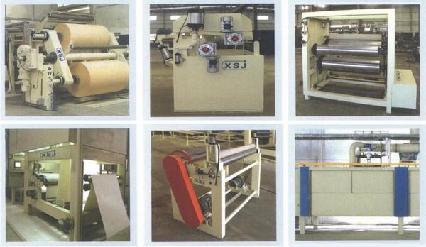 Агрегаты линии                 для пропитки декоративных и технических бумаг