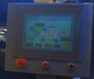 Управляющий сенсорный экран                         лабораторного экструдера