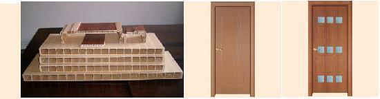 Интервесп - Дверные полотна,                   дверные и оконные коробки из ДПКТ