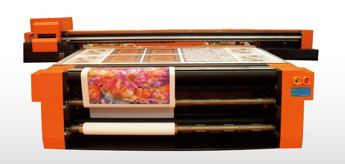 Универсальный UV принтер SkyJet для печати по жестким и рулонным материалам