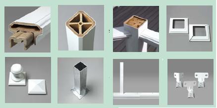 термопластичный экструзионный древесно-полимерный                   композит, экструзия и литье, баллюстрада
