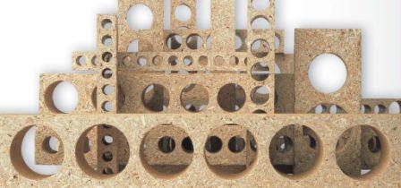 экструзионные древесные плиты
