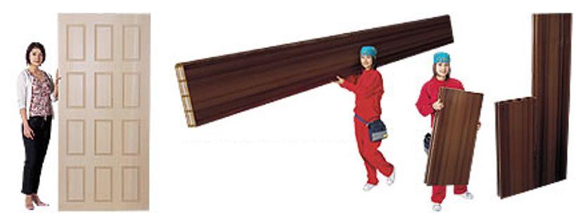 древесно-полимерный композиционный материал -                     панели
