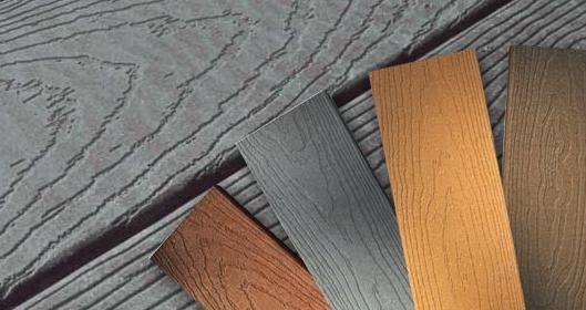 Древесно-полимерные композиты - текстура