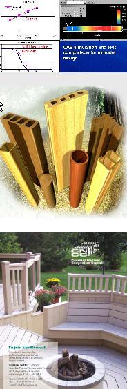 Древесно-полимерные композиты -                   примеры применения